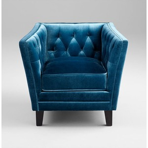 Blue Prince Valiant Chair | Cyan Design
