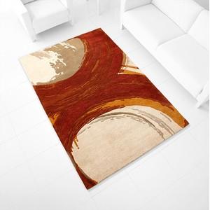 Orange Percival Rug   Cyan Design