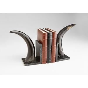 Horn Rimmed Bookends | Cyan Design