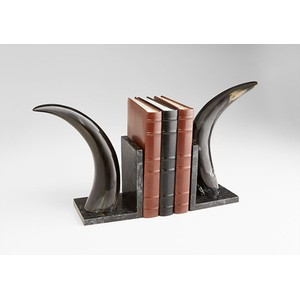 Horn Rimmed Bookends