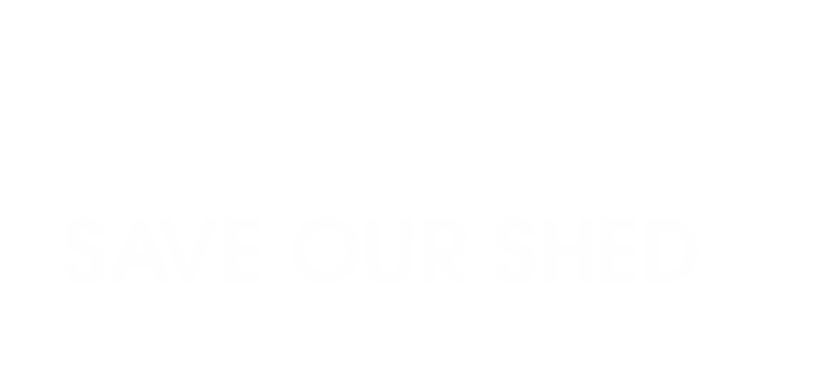 Save Our Shed logo