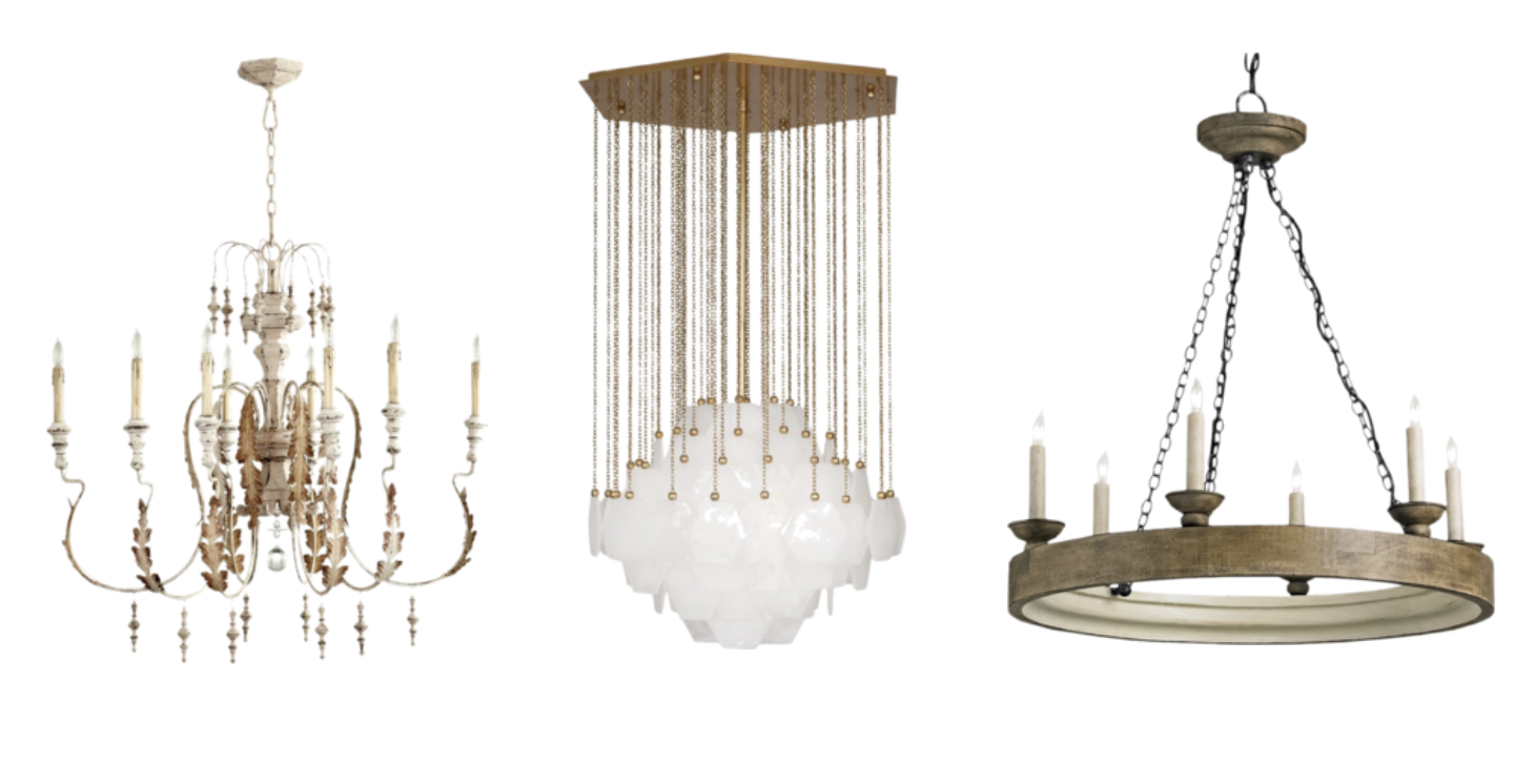 Lighting buying guide how to choose the right lights for every spot chandeliers can be equal parts functional and decorative and come in a wide range of styles from classic candelabra to sculptural modern designs arubaitofo Image collections