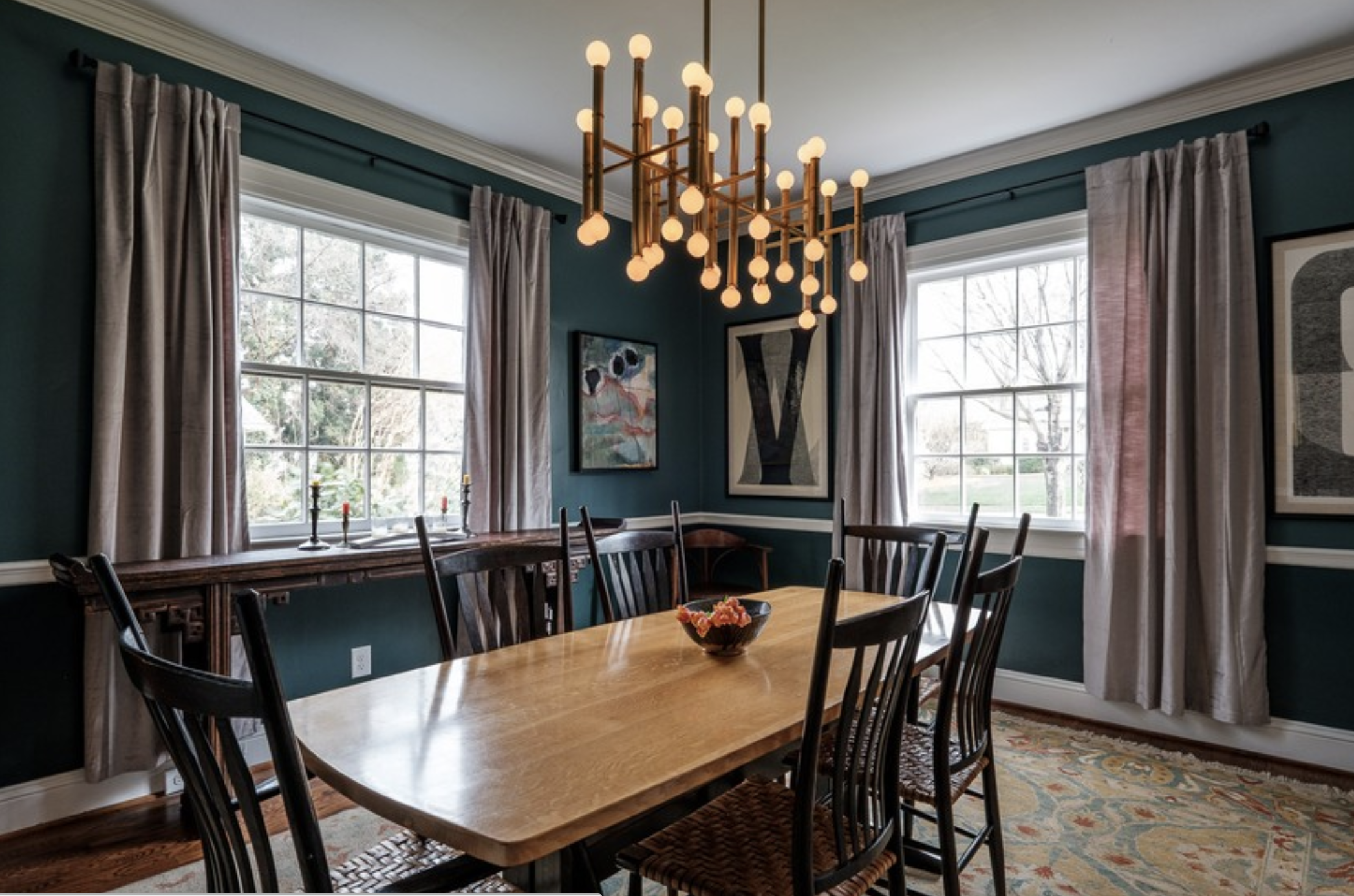 Dining Room Design By TDN Member Cat French
